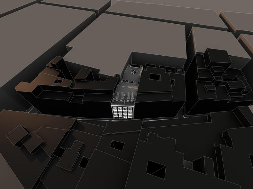 REHABILITACIÓN edificio de viviendas en ATOCHA 3