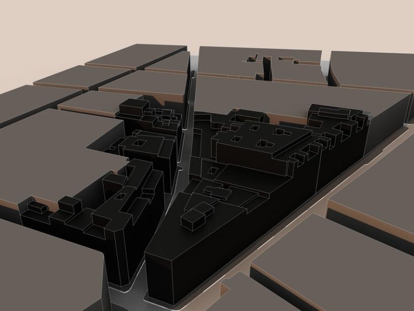 REHABILITACIÓN edificio de viviendas en ATOCHA 2