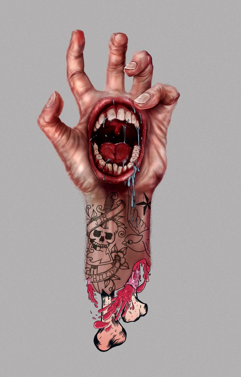 Screeming Hand 1