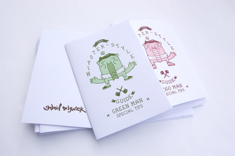 Hipster Style Guide Booklets 4