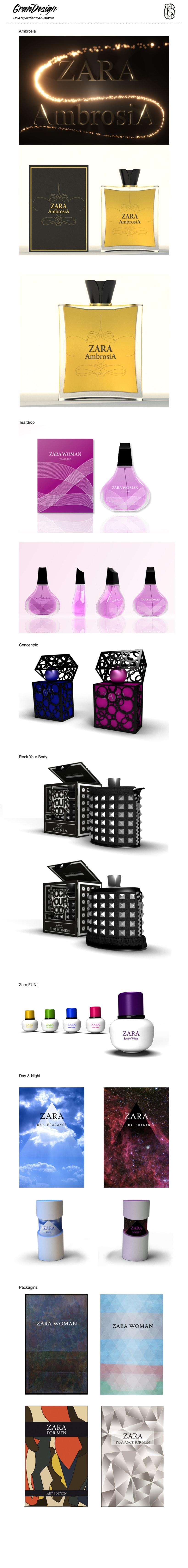 ZARA Perfumes 1