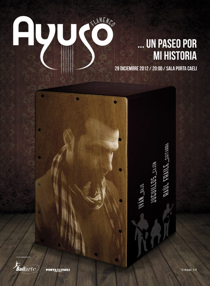 Cartel Ayuso Flamenco 1