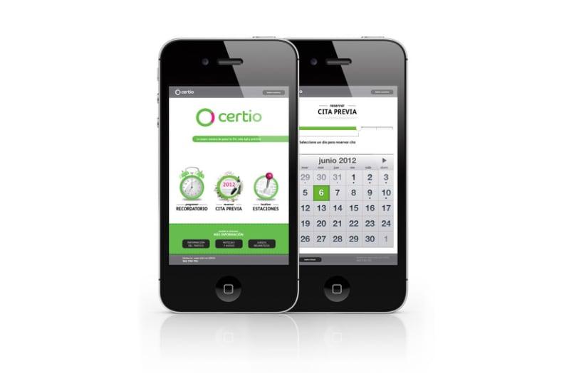 Certio - app uix 2