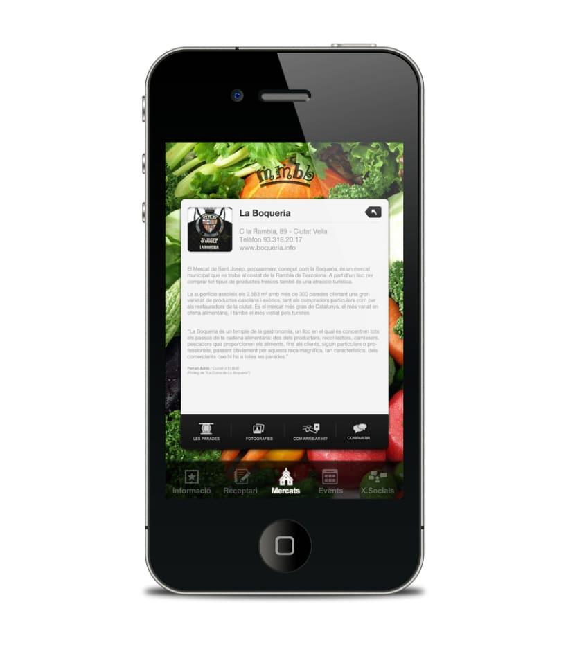 Mercats de Barcelona - app  2