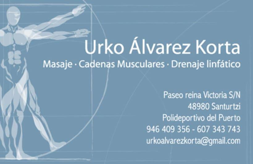Tarjeta  y bonos Urko A. Korta 2