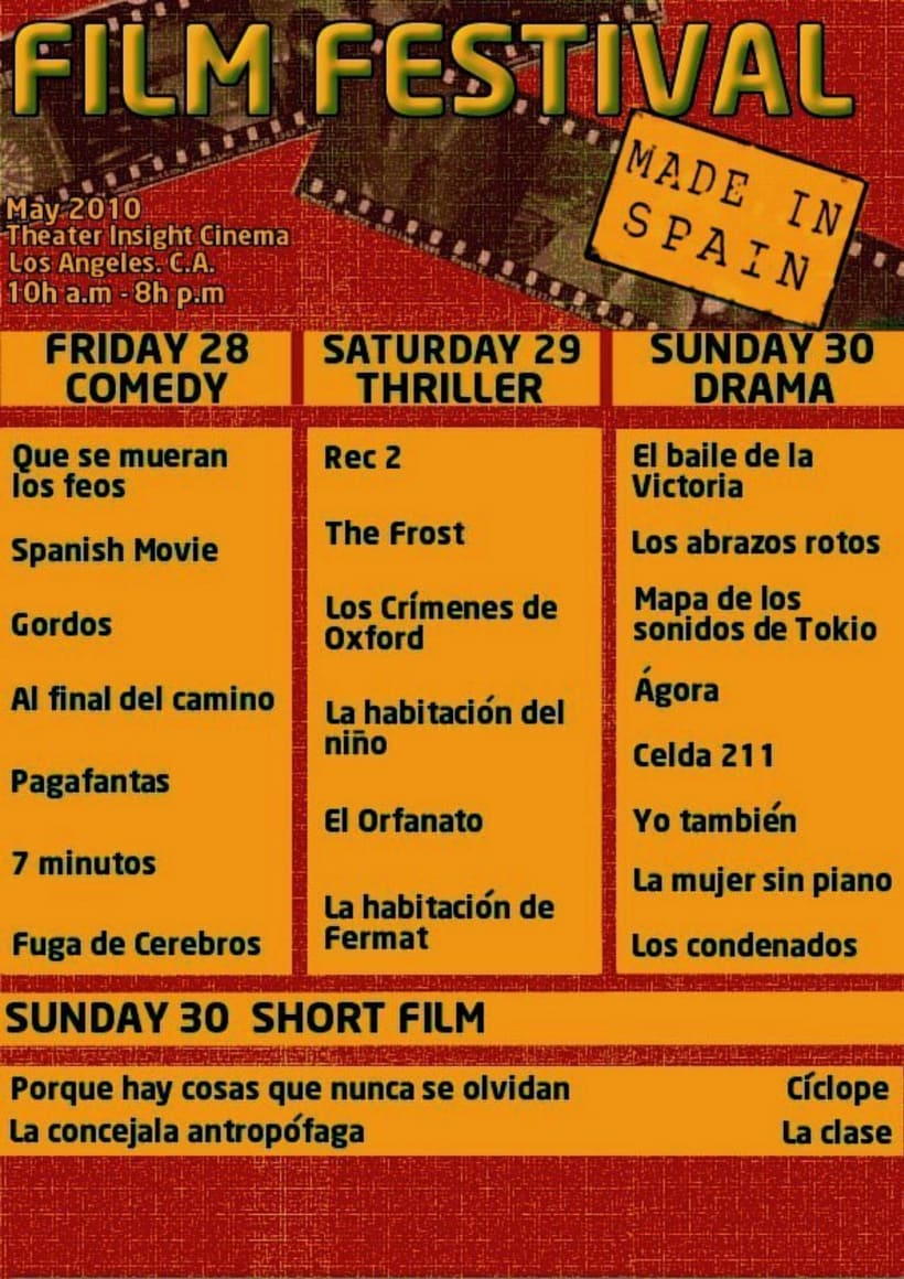 Film Festival:made in Spain 4