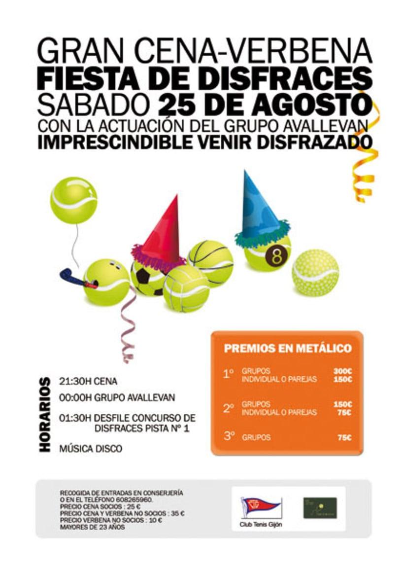 Cartelería Club de Tenis 2