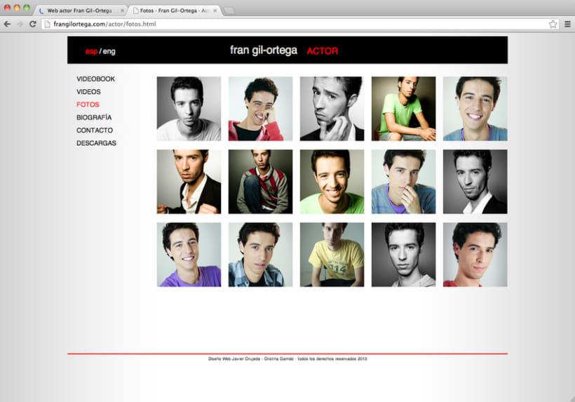 Web actor Fran Gil-Ortega 3