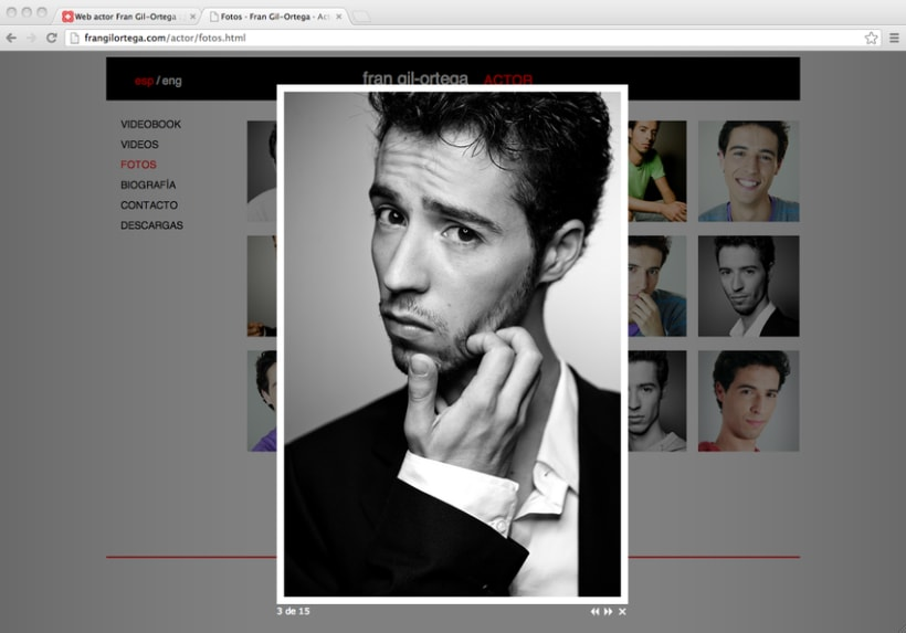 Web actor Fran Gil-Ortega 4