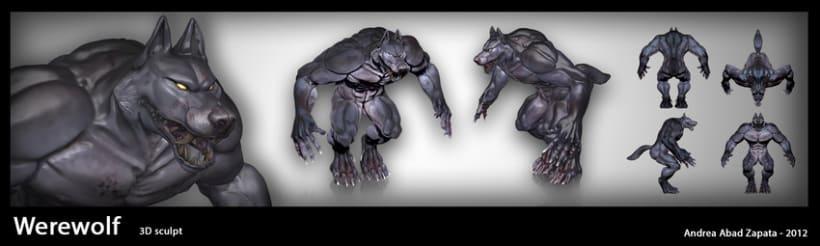 Hombre Lobo 3d 2