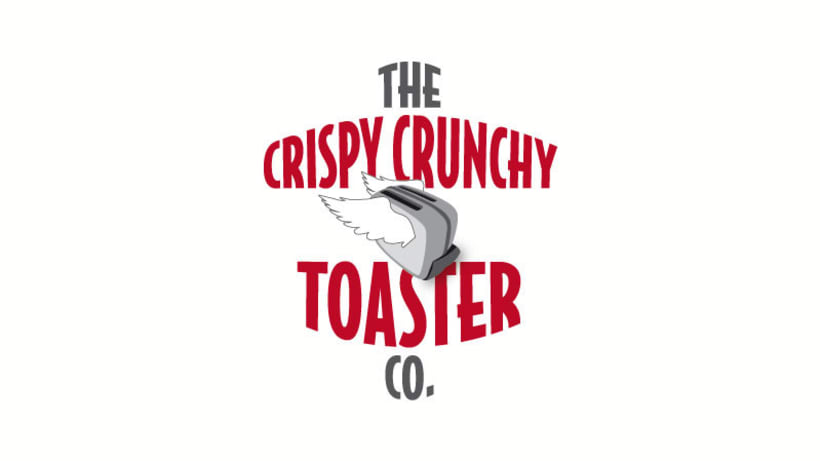 The Crispy Crunchy Toaster Co. / corporate design 1