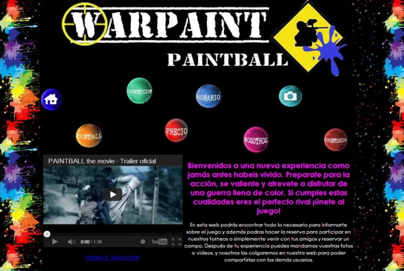 Web paintball 4