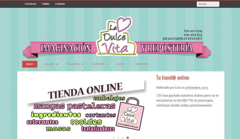 Imagen, web y tienda online   1