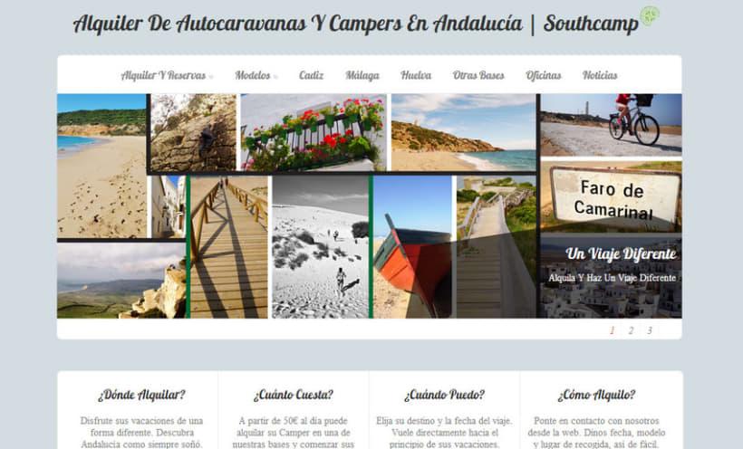 Southcamp - Diseño Web 2