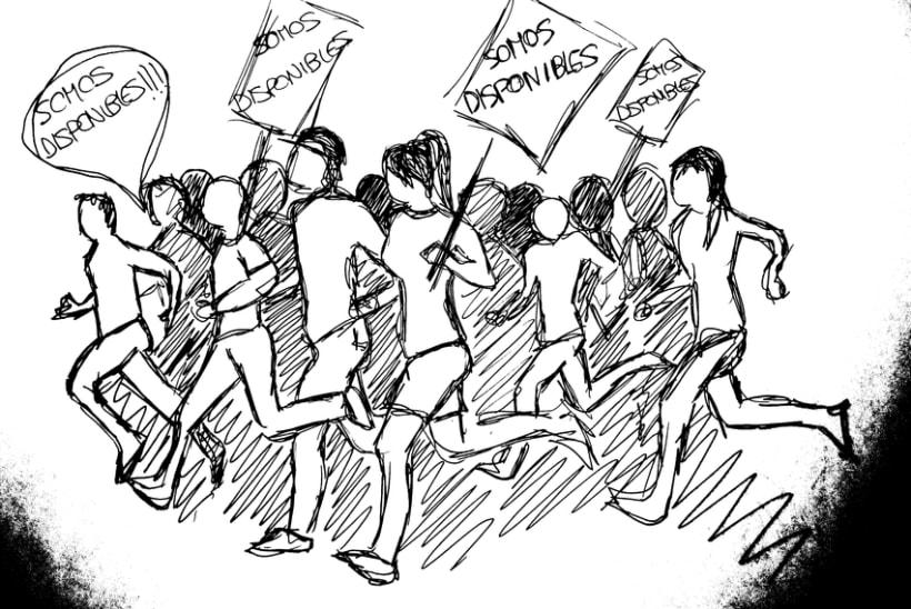 Disponibles si, parados no (ilustración) 8