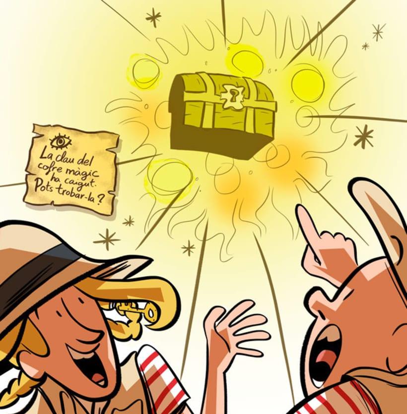 Moxi i Toxi a El cofre màgic dels caramels infinits 5
