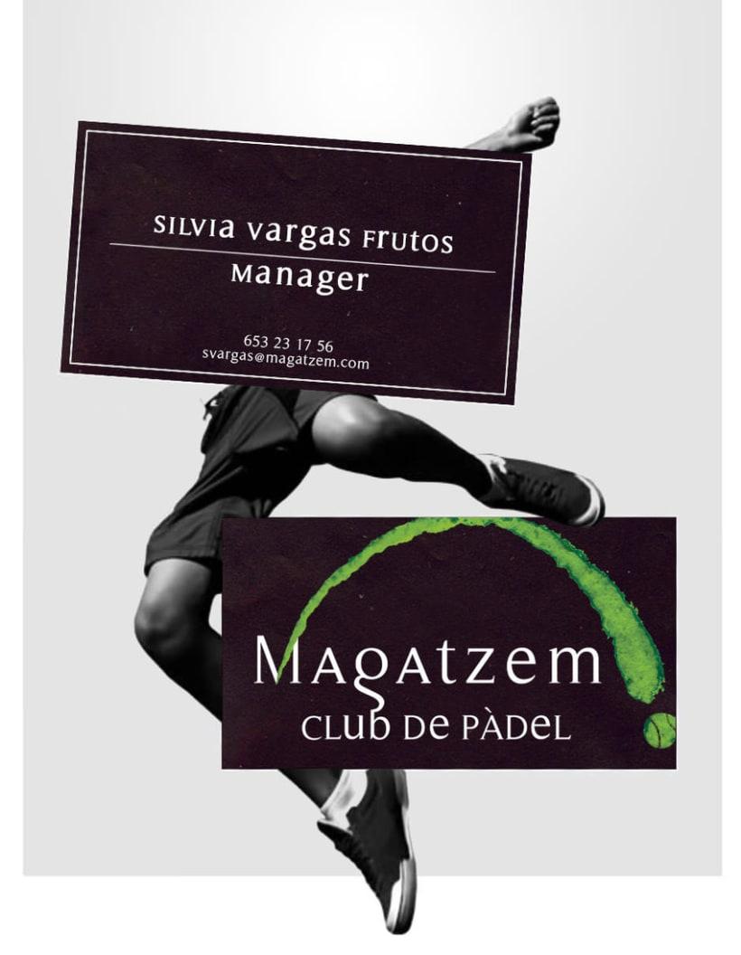 Diseño de Logotipo - Magatzem, Club de padel 2