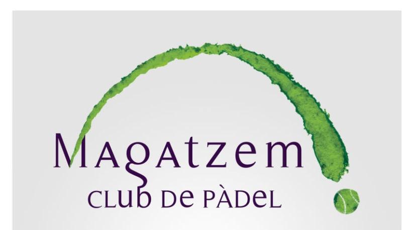 Diseño de Logotipo - Magatzem, Club de padel 1