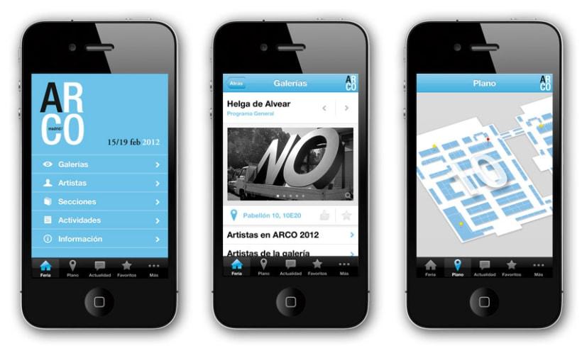 App móvil ARCO 2