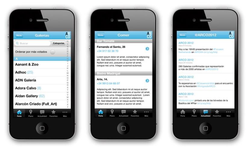App móvil ARCO 3