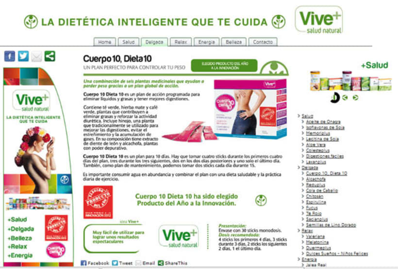 Web development and design grupoviveplus.com 2