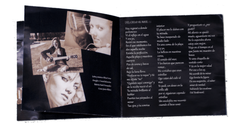 Photography, design and layout CD cover art and booklet | Domestika
