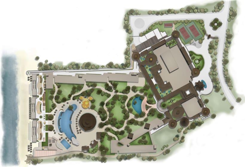 Masterplan iberostar domestika for Design hotel kuba