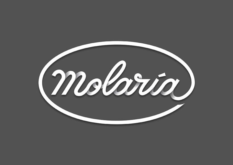 Logo & Lettering Molaría 4