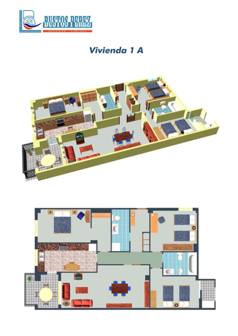 Viviendas 3D / 3D Houses 6