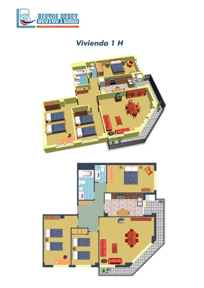 Viviendas 3D / 3D Houses 7