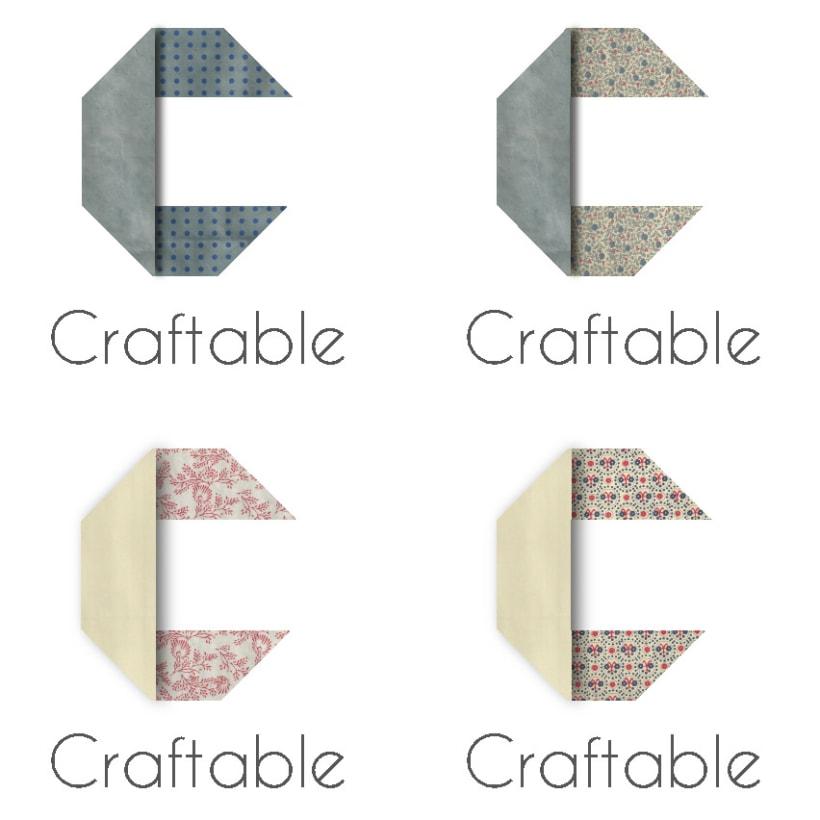 Propuesta de logotipo para Craftable 1