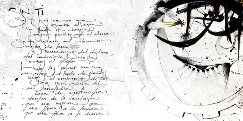 """""""LO QUE VA Y VIENE"""" disco de Gaizka Baena 6"""