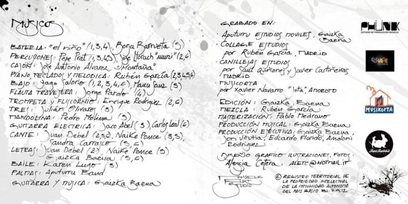 """""""LO QUE VA Y VIENE"""" disco de Gaizka Baena 7"""