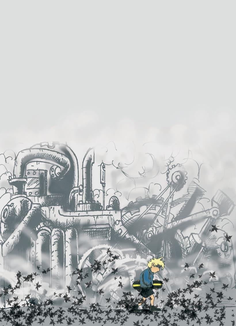 Ilustraciones para historietas y cuentos. 9
