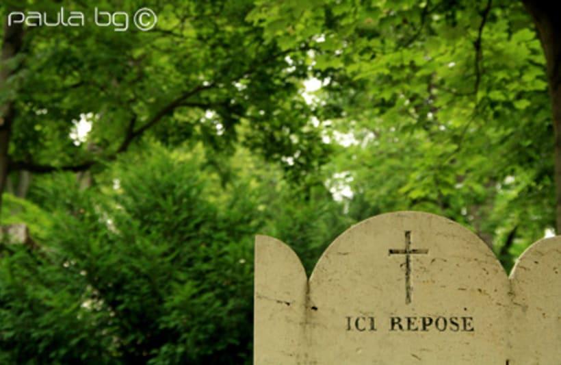 Photo: cimetière Paris 18
