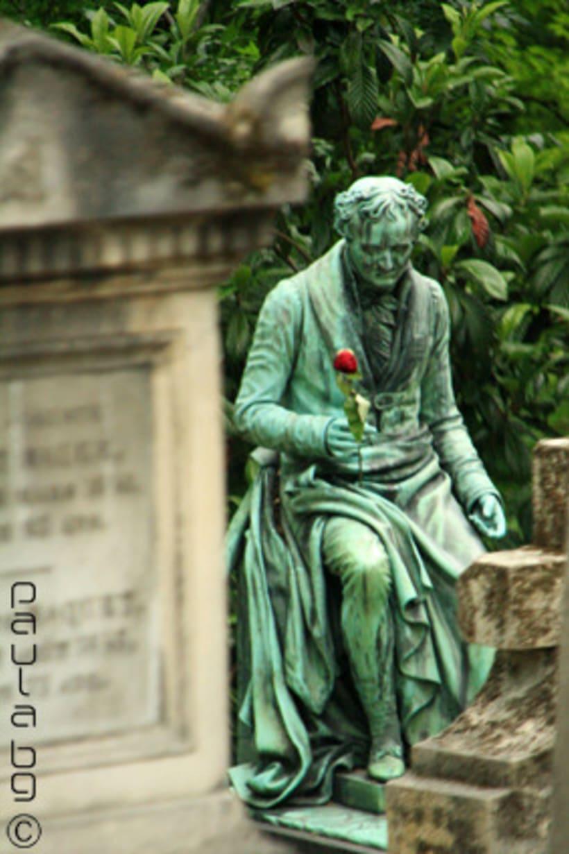 Photo: cimetière Paris 16