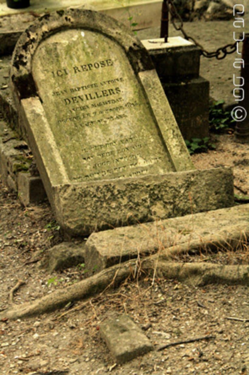Photo: cimetière Paris 15