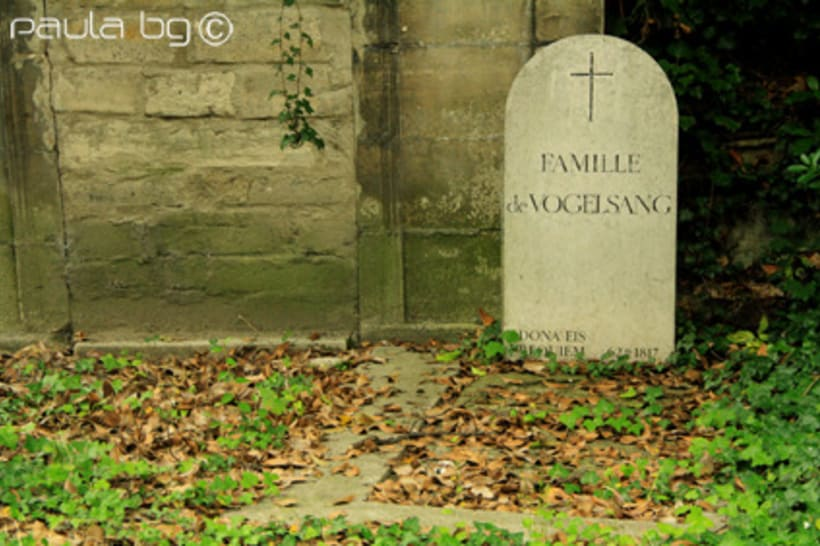 Photo: cimetière Paris 13