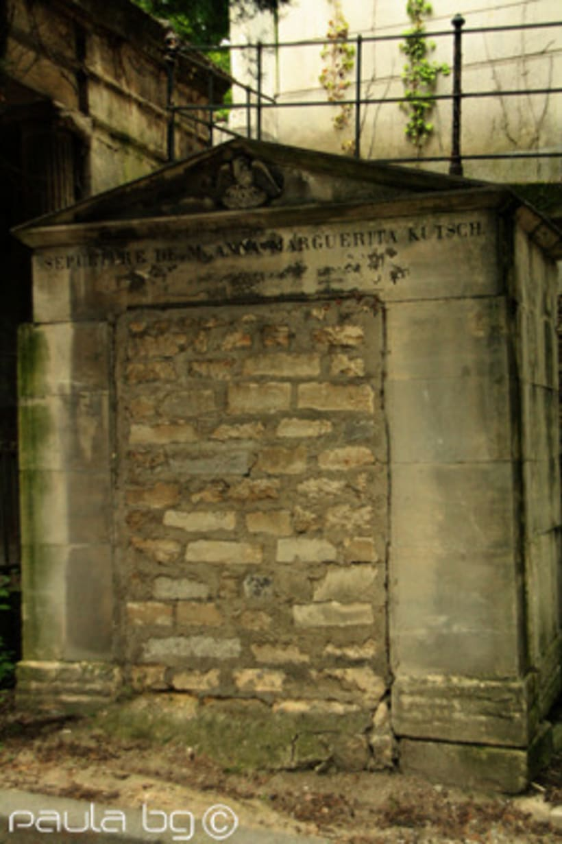 Photo: cimetière Paris 11