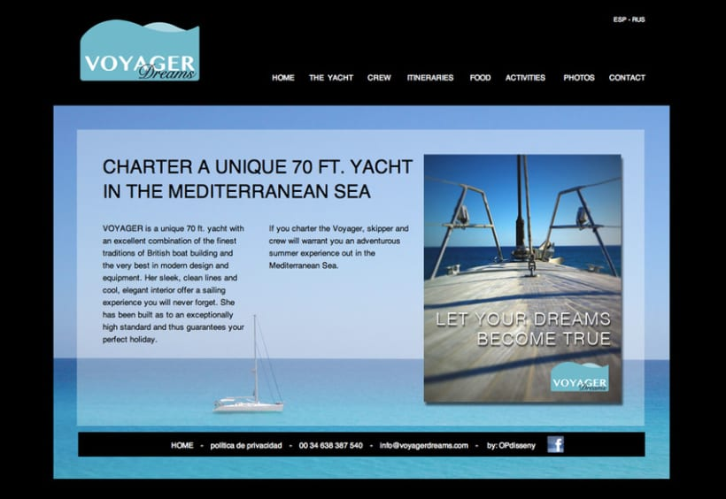 Voyager dreams web 0