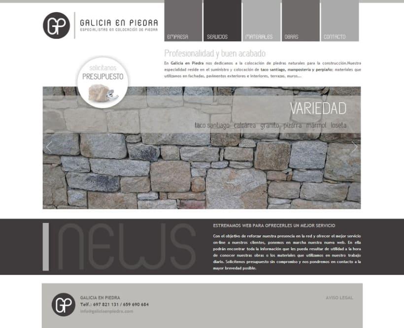 Web Galicia En Piedra 1