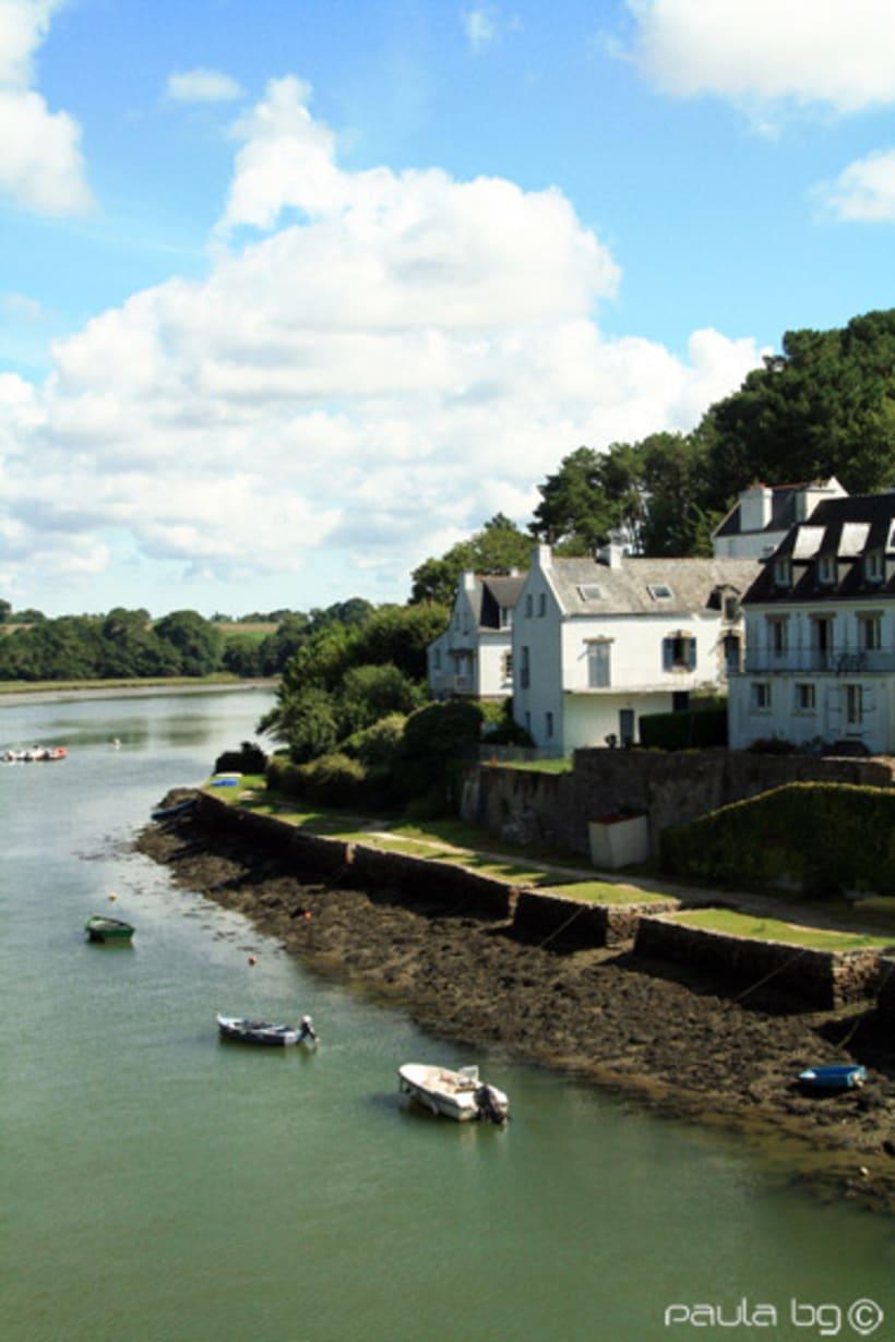 Voyages en Bretagne: Le Bono et Auray (travels around France: Le Bono and Auray) 4