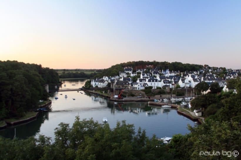 Voyages en Bretagne: Le Bono et Auray (travels around France: Le Bono and Auray) 1