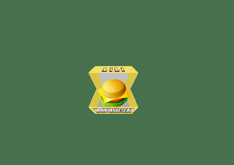 Logo Hamburguesería Lili 1