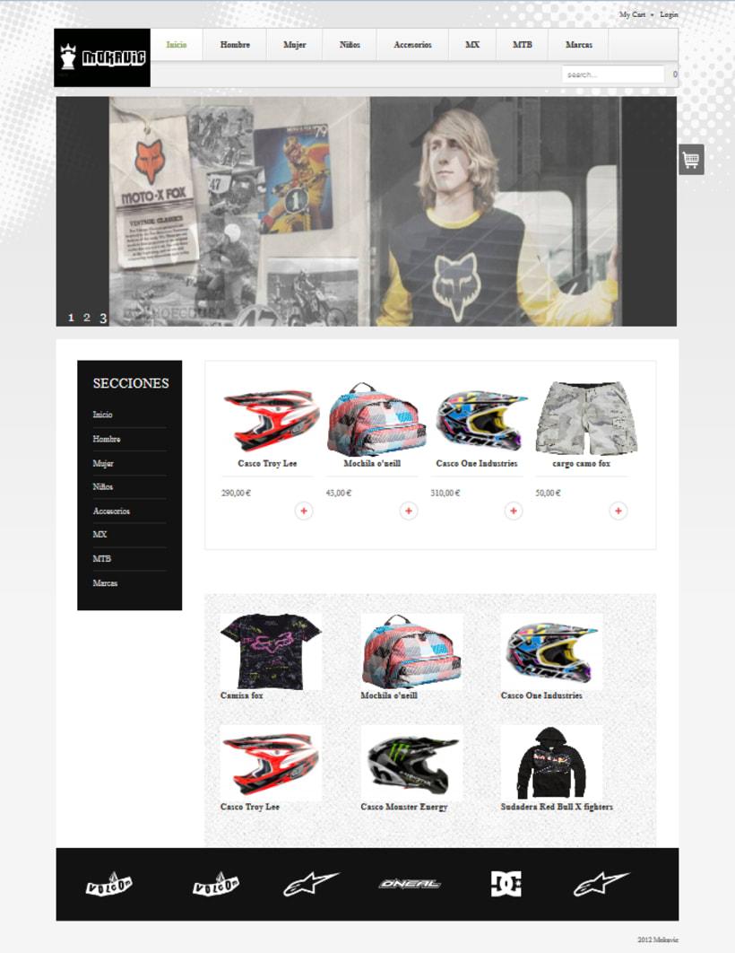 Página web mokavic.com 1