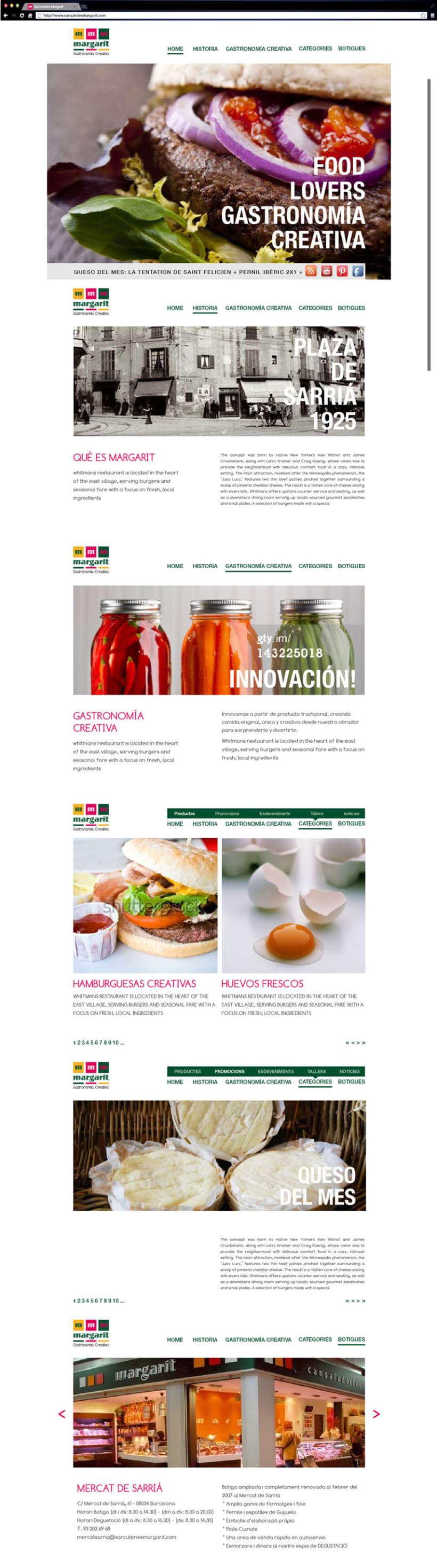 Propuesta de web para Margarit 2