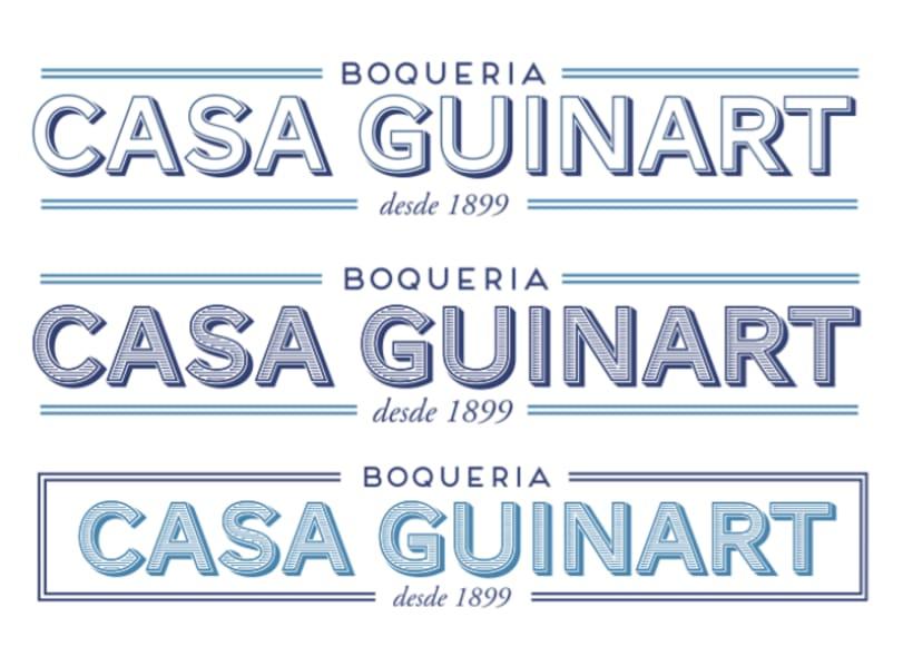Casa Guinart La Boqueria - Identidad Corporativa 2