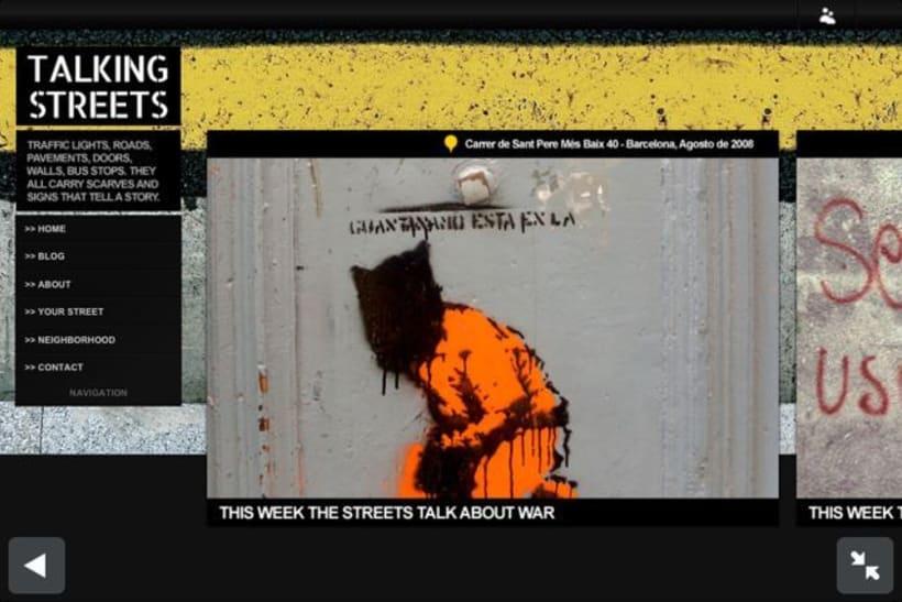 Talking Streets BLOG 2