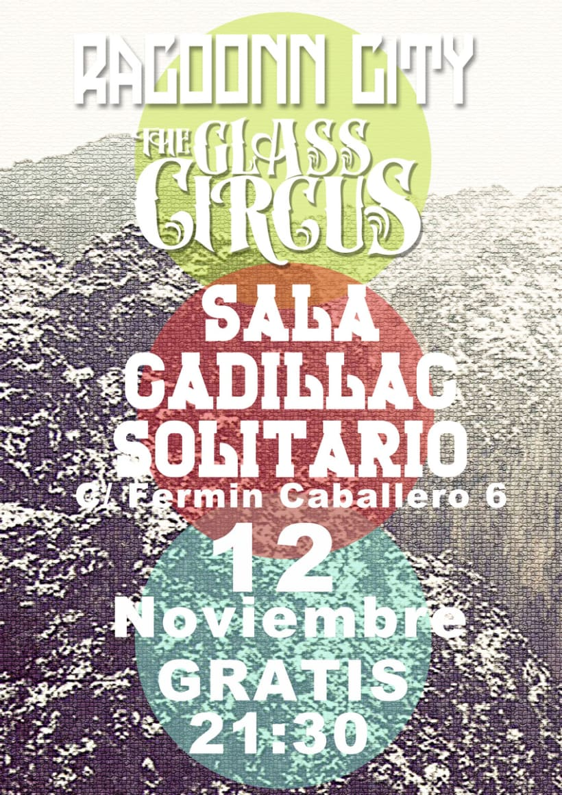 Carteleria the glass circus 5