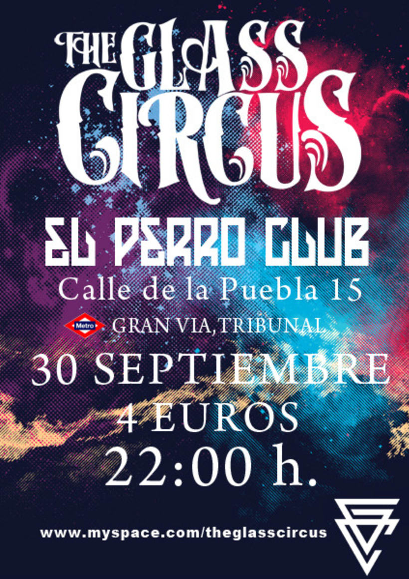 Carteleria the glass circus 4